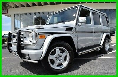 Mercedes-Benz G-Class MERCEDES AMG ~~ 4-MATIC ~~ FULLY LOADED ~~ 2005 G 55 AMG 5.4L V8 24V Automatic 4MATIC SUV Premium Moonroof