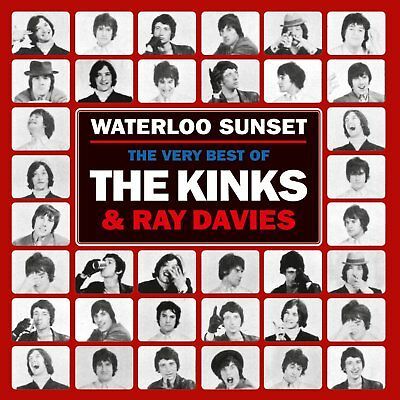 THE KINKS & RAY DAVIES WATERLOO SUNSET THE VERY BEST OF THE 2 CD (Greatest Hits)