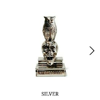 NEIGHBORHOOD OWL18s/s INCENSE CHAMBER Silver H230mm.W115mm.D105mm