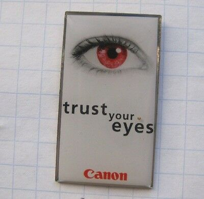 CANON / TRUST YOUR EYES .................. Pin (171k)