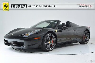 Ferrari 458 Spider Carbon Fiber LED Sport Exhaust Shields Camera Forged Full Electric Satellite