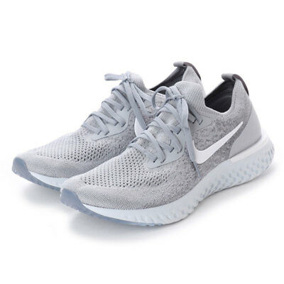 ea477ad688e4 NIKE EPIC REACT Flyknit Wolf Grey cool Grey Aq0067 002 Us Mens Size ...