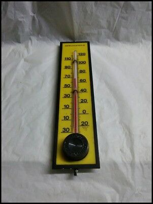 VINTAGE SPRINGFIELD THERMOMETER Made In U.S.A.