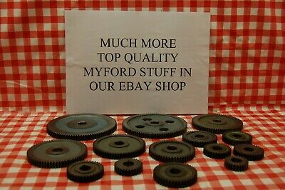 Myford 7 & 10 change gears Original Nottingham Myford