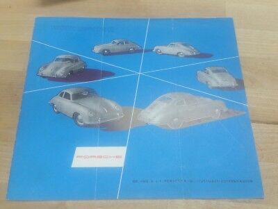 1955 Porsche 356 It's Our Hobby to Build Your Hobby Brochure