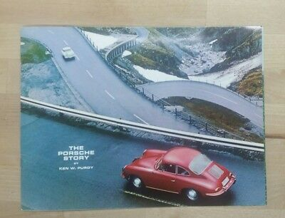 1965 356 The Porsche Story by Ken W Purdy  brochure