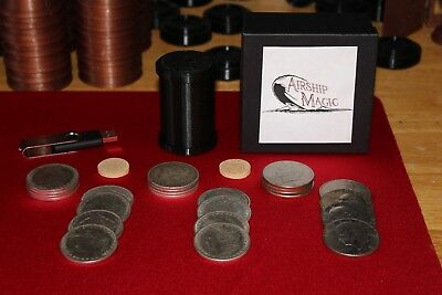 John Ramsay Cylinder & Coins Dollar Quality Coins Ike Dollars Stack & Workers