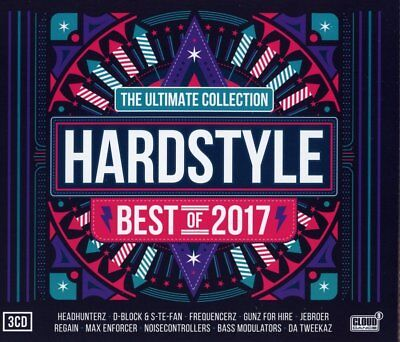 Hardstyle Ultimate Collection - Best Of 2017  3 Cd Neu