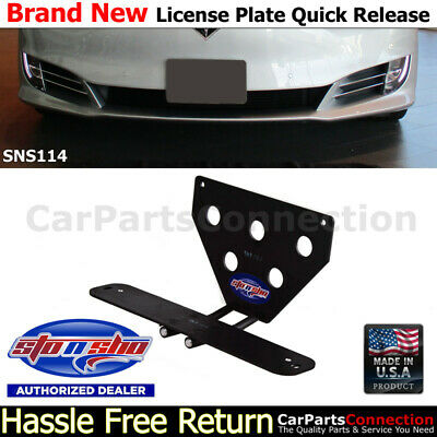 STO N SHO Stingray 14-17 Quick Release License Plate Mounting Relocator SNS50