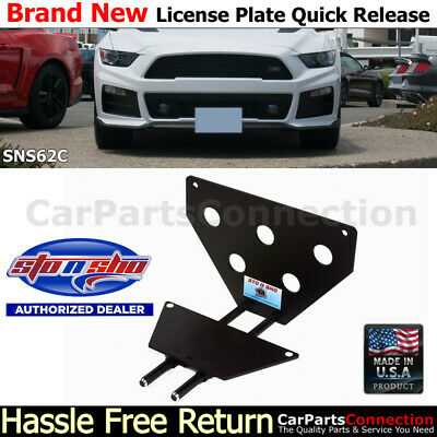 For Volvo S40 S70 S80 C70 MTC Front License Plate Bracket # 9154456