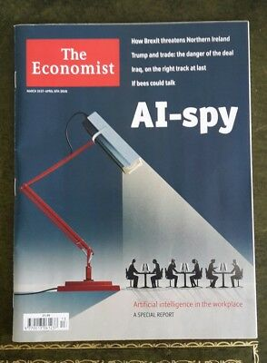 The Economist Magazine 31st of March to 6th April 2018