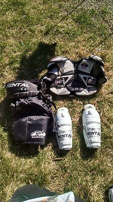 Easton Chest Protector / Padded Shorts -OneGame-/ Shin/Knee Pad YOUTH HOCKEY LOT