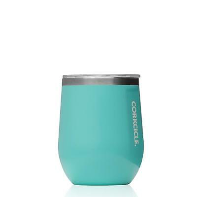 Brand New Corkcicle CORKCICLE  | Stemless 12oz Turquoise