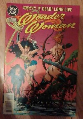 Wonder Woman Vol 2  #129 (1998) Donna Troy Artemis VF+ Combined P&P Available