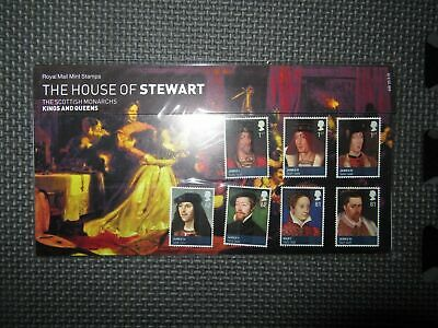 "G.B Presentation Pack ""The House Of Stewart"" 15/06/10 Pk No.443"