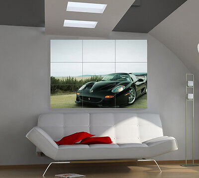 FERRARI F1 LARGE giant cars poster print photo mural wall art ib566 ...