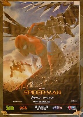 Affiche Poster Film Spiderman Homecoming 2017 174X118 Grand Format