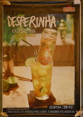 Affiche Poster Desperados 4 Modèles Differents 174X118 Non Pliees