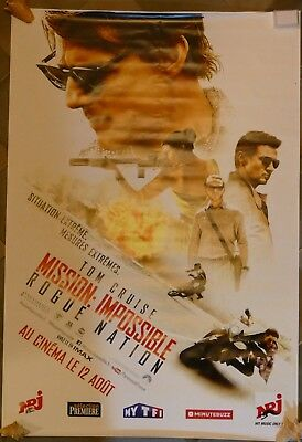 Affiche Poster Film Mission Impossible Rogue Nation 2017 174X118
