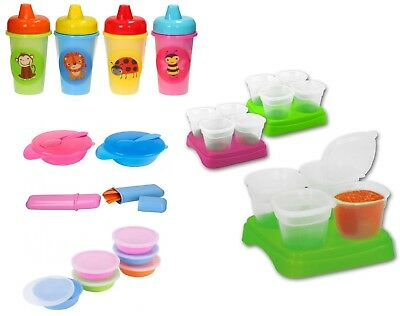 Kids Food Dishes Plates Cutlery Children Plastic Container Bowl Plates Feeding