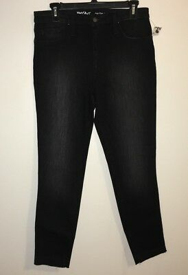 NEW Mossimo Womens Jeans High Rise Crop Jeggings, Black in Size 10/30 Regular