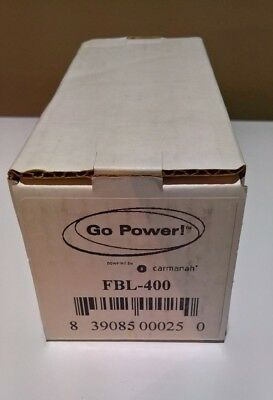 Go Power 400 Amp Fuse Class T with Fuse Block FBL-400