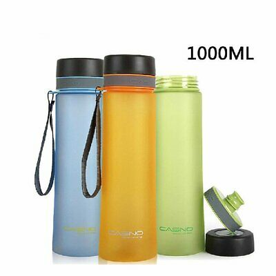 0.6-1L LeakProof Drinking Water Bottle Cycling Sports Hiking Travel Outdoor AU