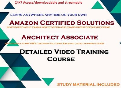 AWS Certified Solutions Architect - Associate 2018 FULL video course