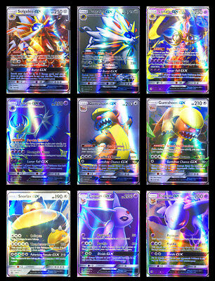 100Stück Pokemon Cards TCG GX/EX Karte Alle Holo Flash FULL ART Trading Cards DE
