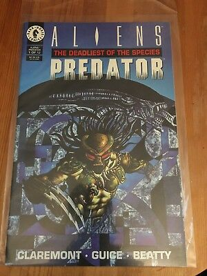 Dark Horse Comics Aliens Predator - The Deadliest of Species Issue #1