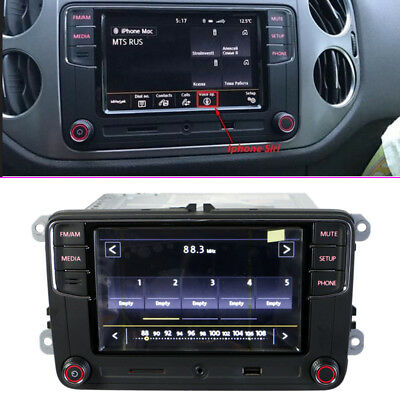 "6.5"" MIB UI Radio RCD330 Plus 6RD 035 187 A  for VW Golf Jetta Tiguan Passat"