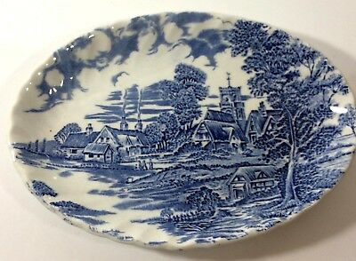 Vintage Ridgway Ironstone Staffordshire Pottery : Meadowsweet Plate Dish