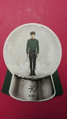 EXO SEHUN Authentic Official PHOTOCARD Miracles in December Snow Ball 세훈