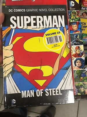 DC Comic Grphic Novel Collection Superman Man of Steel