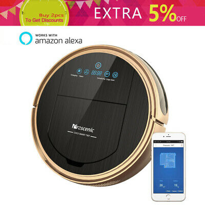 Proscenic 811GB WIFI Robotic Vacuum Cleaner Robot Automatic Wet Dry Sweeper Mop