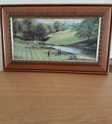 terry harrison framed painting