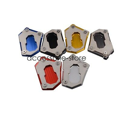 Kickstand Side Stand Extension Plate Pad For BMW R1200GS LC Adventure 2015-2016