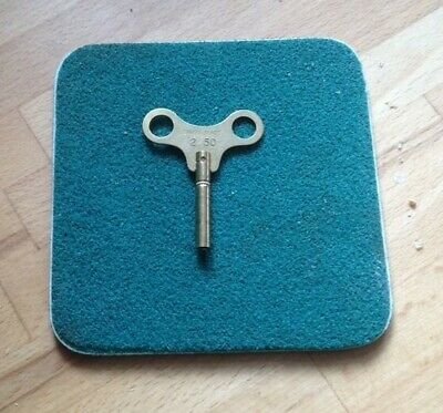clock winding key size 2.50 mm No 1 SWISS MADE