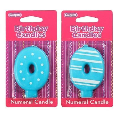 0 Number Birthday / Anniversary  Cake Candle for party decoration