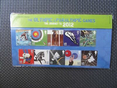 "Presentation Pack - Olympic & Paralympic Games - The Journey To 2012"" Pk No.M18"