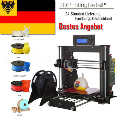 DE CTC 3D Printer DIY i3 Upgradest High Precision Reprap Prusa 3D Drucker  DHL