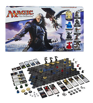 Hasbro Gaming Magic Gathering Arena Of The Planeswalkers Board Game - 24 Figures