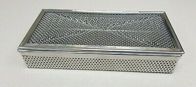 Sterilisation Cassette Cray autoclave Sterilizer perforated mesh box 205*105*35m