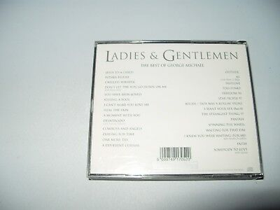 George Michael  Ladies & Gentlemen (The Best of , 1998) 2 cd Fatbox cds Ex +