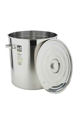 New Large 38L Stainless Steel Stock Pot Sauce Set-Heavy Duty