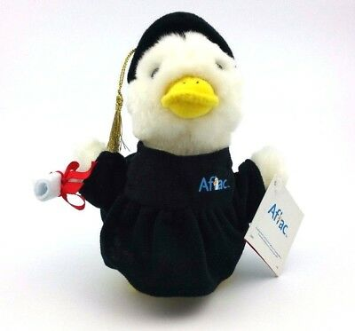 Aflac Plush Duck Graduation Hat, Diploma & Robe
