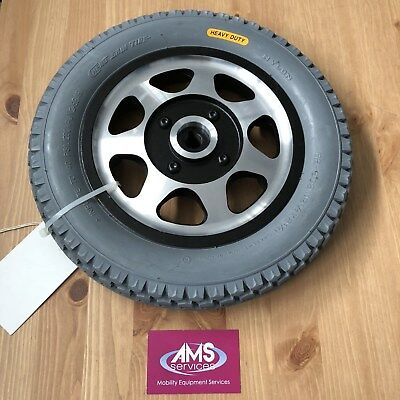 Days Viper / Viper Plus Electric Wheelchair Rear Wheel & Solid Tyre, Parts