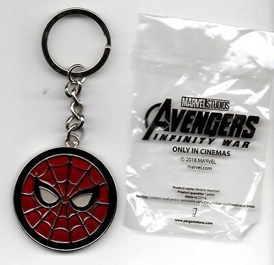 Avengers: Infinity War Movie Theater Exclusive Metal Key Chain - Spider-Man