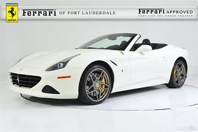 Ferrari California T Certified CPO Yellow Calipers 20 Forged Ventilated Full Electric Seats Shields Stitching