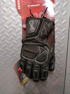 MOTORFIST Gripper Glove in Black/Stealth - 50% OFF! WINTER CLEARANCE SALE!